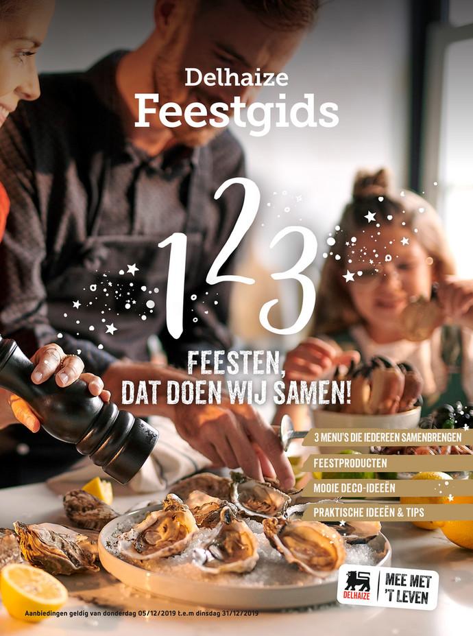 Delhaize folder van 04/12/2019 tot 31/12/2019 - Feestgids