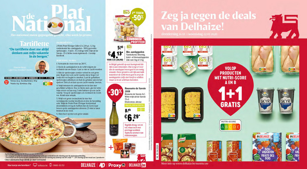 Delhaize folder van 16/01/2020 tot 22/01/2020 - Weekpromoties 03