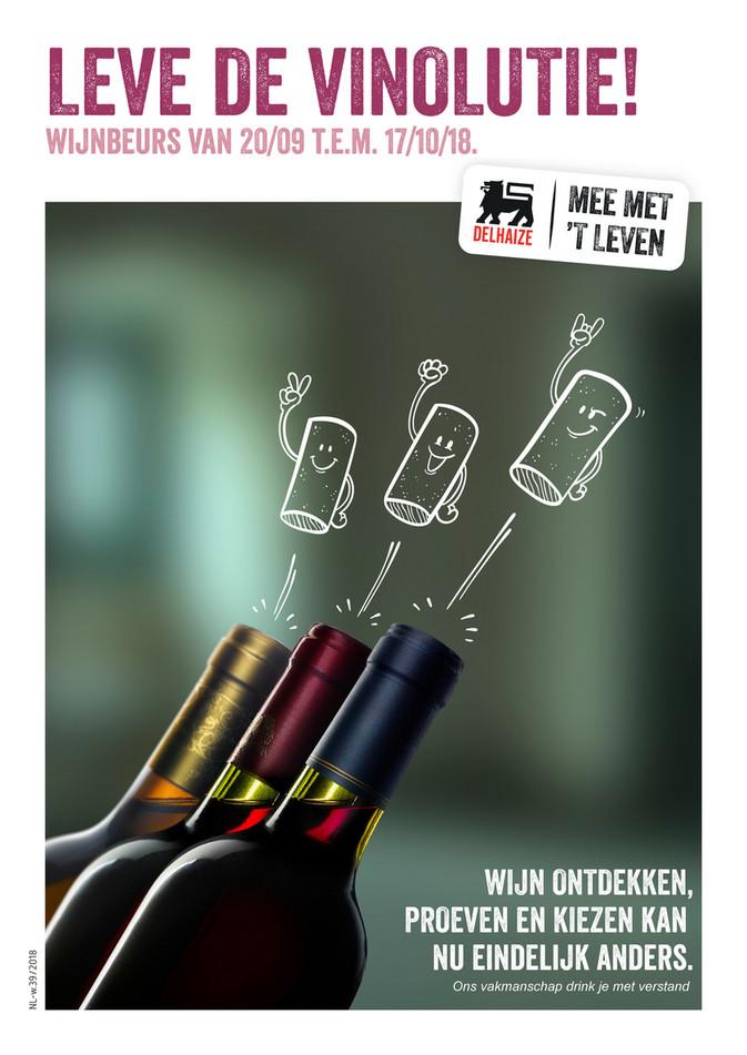 Delhaize folder van 26/09/2018 tot 17/10/2018 - listing-wijnen