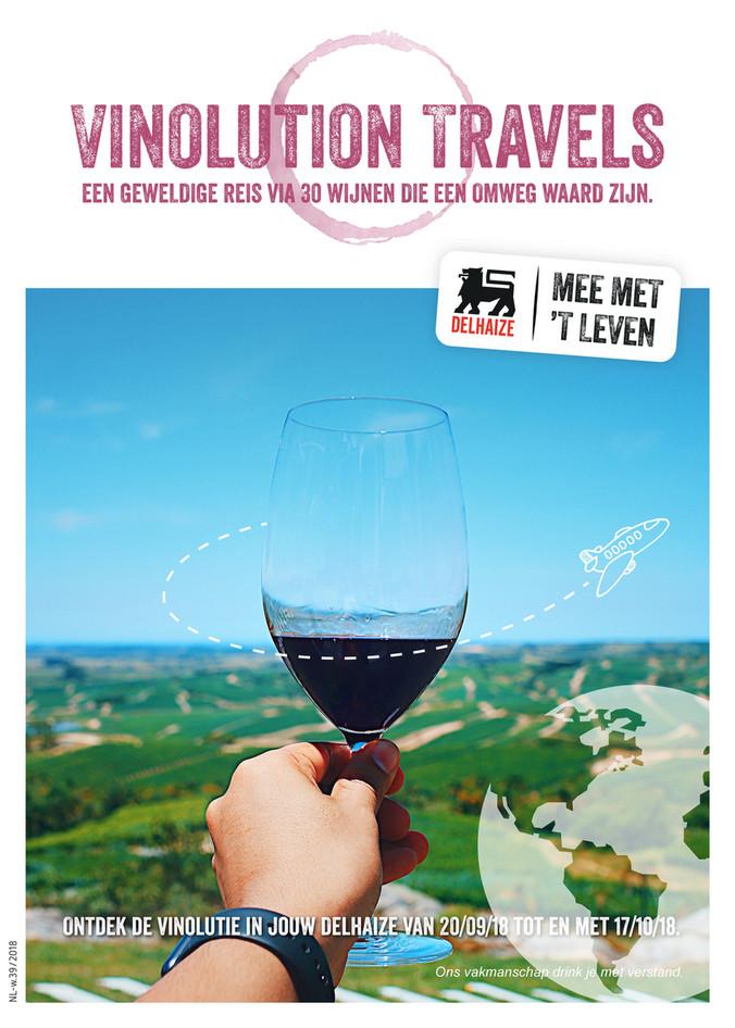 Delhaize folder van 26/09/2018 tot 17/10/2018 - leaflet-wijnen