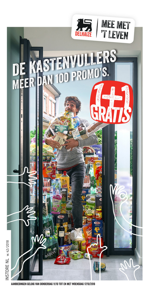Delhaize folder van 11/10/2018 tot 17/10/2018 - Weekpromoties 41