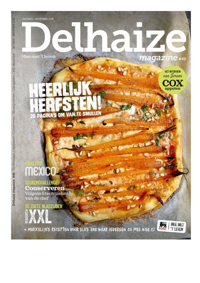 Delhaize folder van 01/10/2018 tot 30/11/2018 - Catalogus oktober november