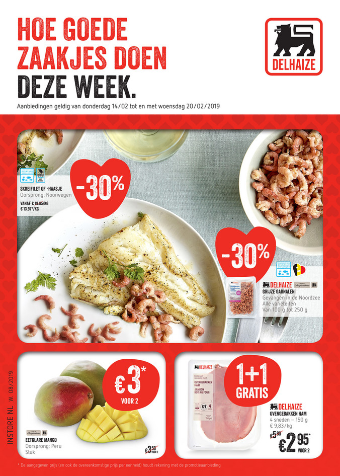 Delhaize folder van 18/02/2019 tot 20/02/2019 - Weekpromoties 8