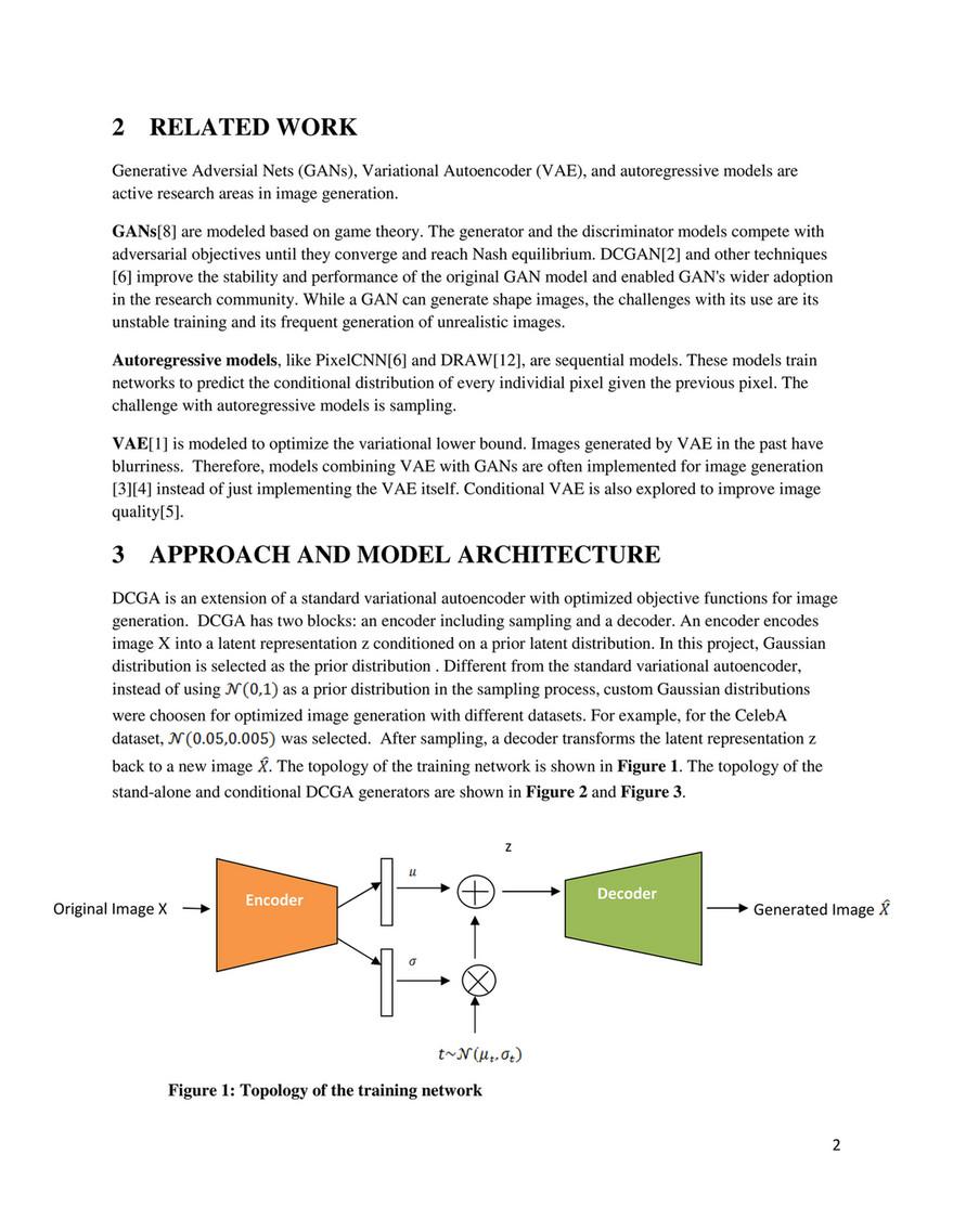 My publications - Deep Convolutional Generative Autoencoder(DCGA
