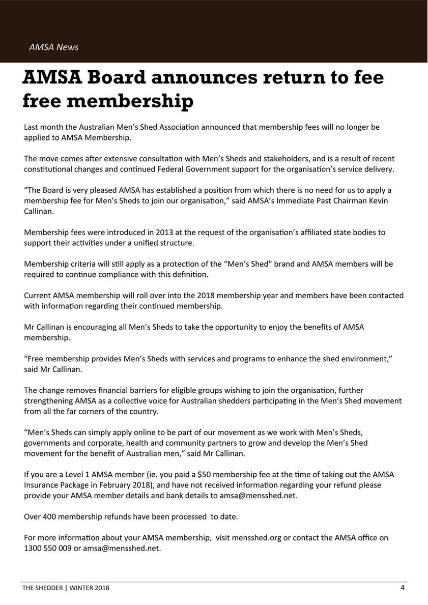 Free men membership com Memberships