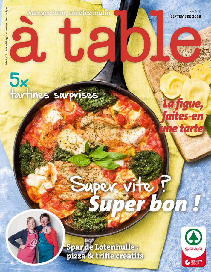 Folder Spar du 01/09/2018 au 30/09/2018 - Kook Magazine