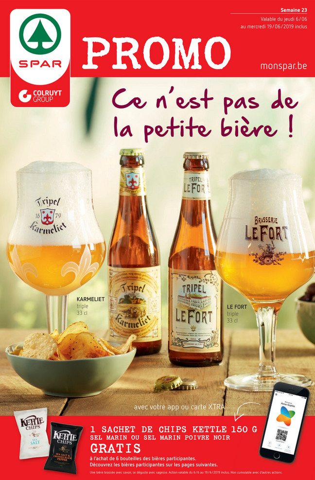 Folder Spar du 06/06/2019 au 19/06/2019 - Promotions de la semaine 23