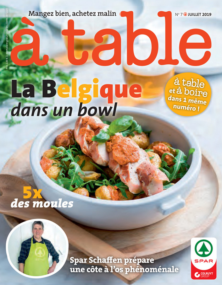 Folder Spar du 01/07/2019 au 31/07/2019 - A table