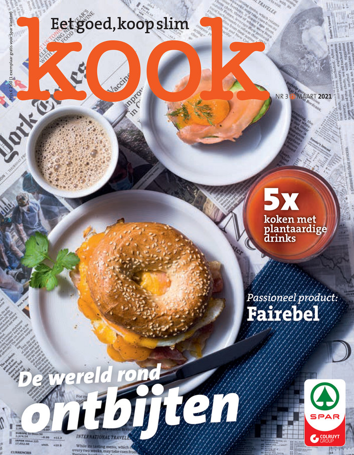 Kook - Maandpromoties maart