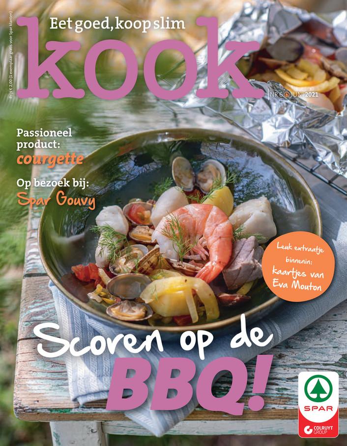 Spar folder van 17/05/2021 tot 30/06/2021 - Kookmagazine juni