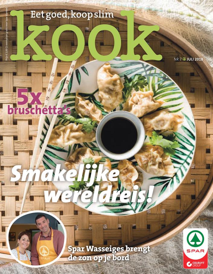 Spar folder van 29/06/2018 tot 31/07/2018 - Spar Kook NL