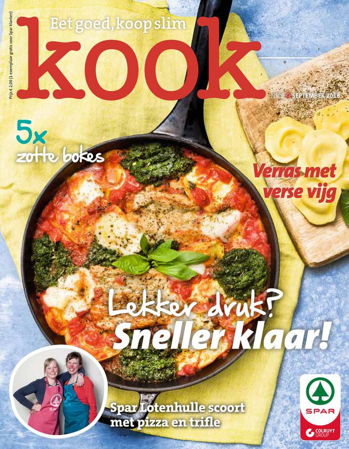Spar folder van 01/09/2018 tot 30/09/2018 - Kook magazine