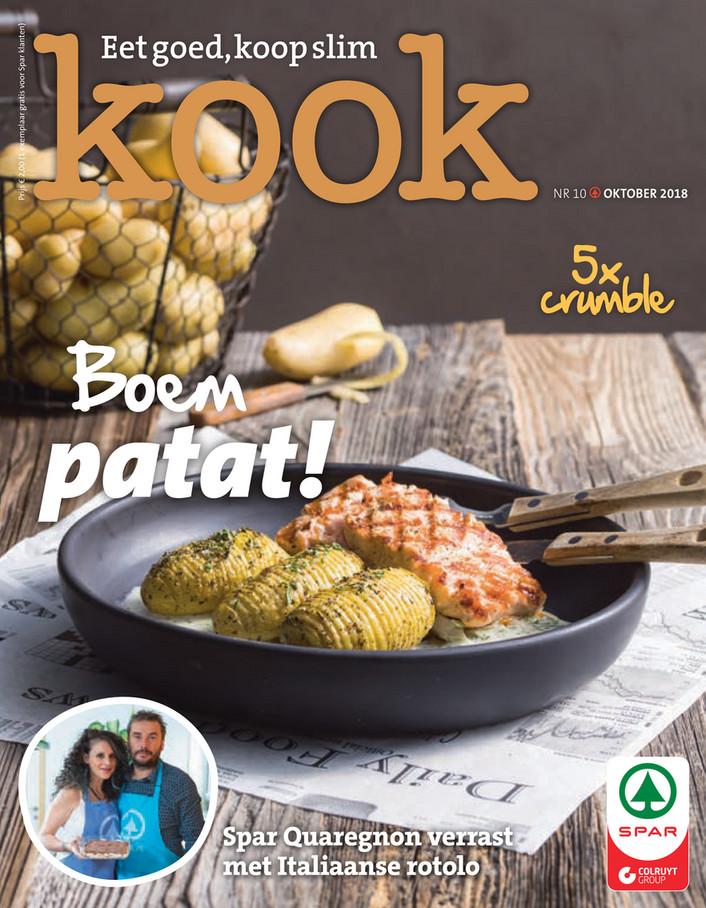 Spar folder van 01/10/2018 tot 31/10/2018 - KOOK10_Magazine_NL_LR.pdf