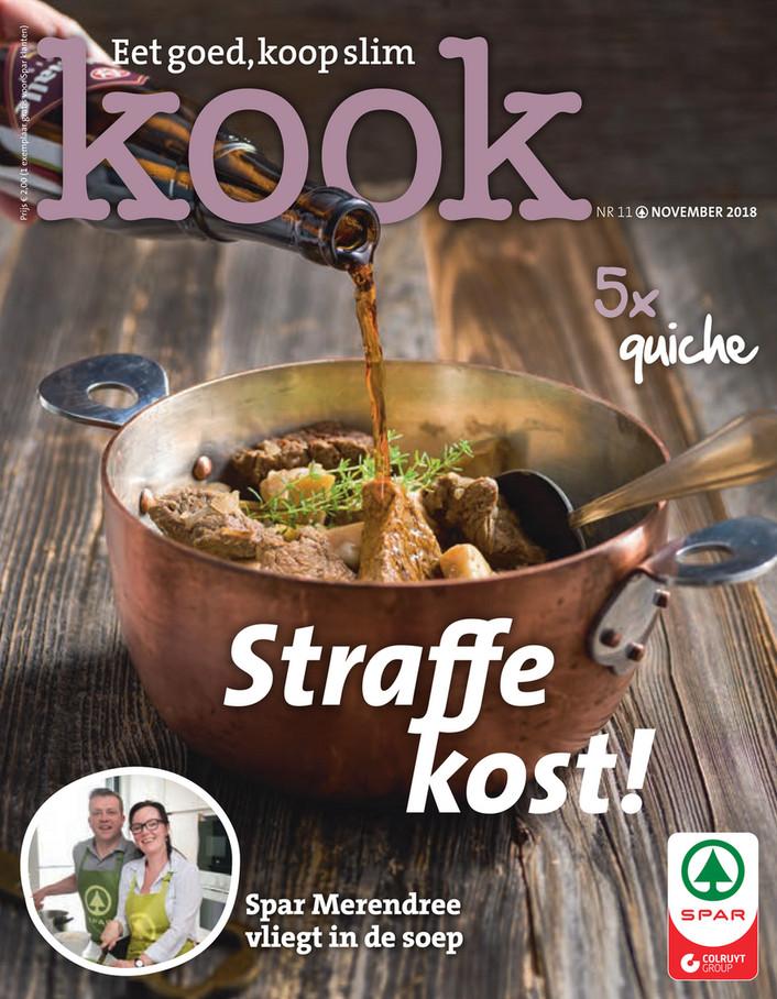 Spar folder van 01/11/2018 tot 30/11/2018 - Kookmagazine