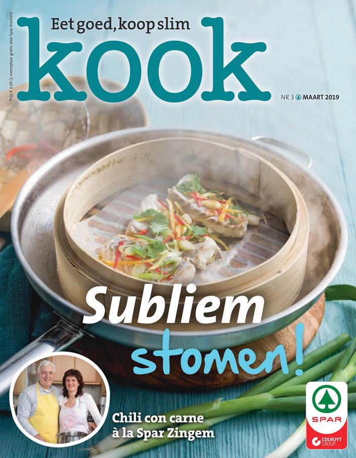 Spar folder van 01/03/2019 tot 31/03/2019 - Kook