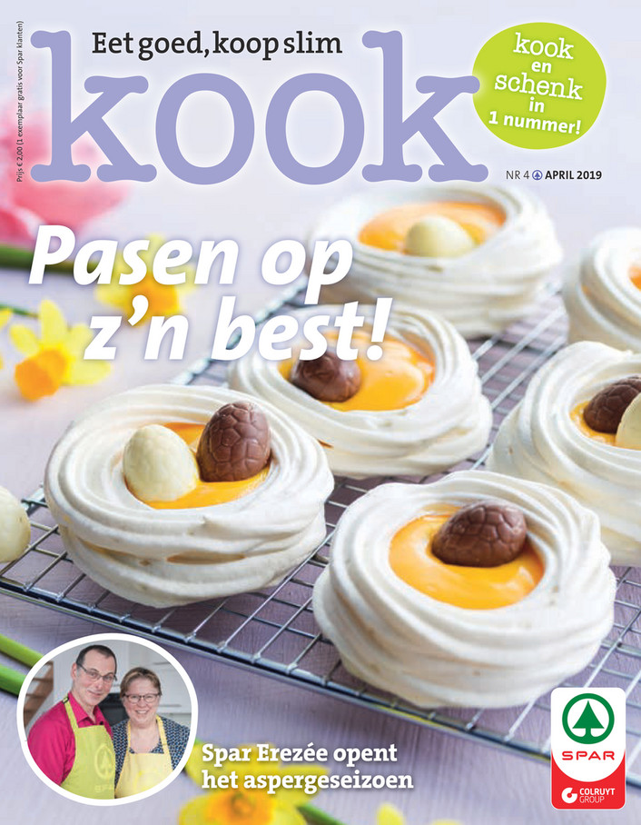 Spar folder van 01/04/2019 tot 30/04/2019 - Kook