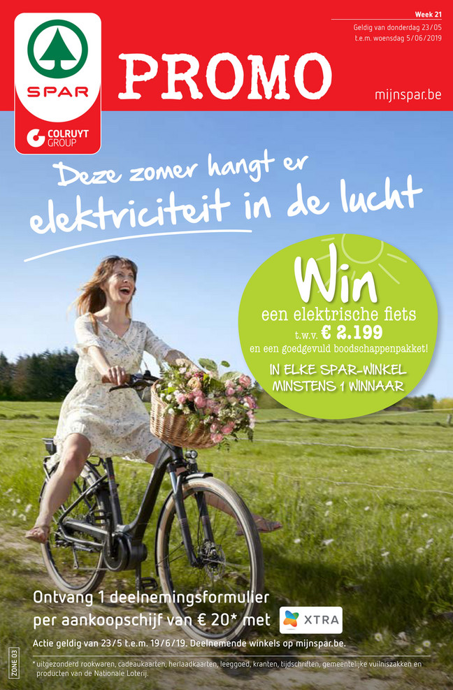 Spar folder van 24/05/2019 tot 05/06/2019 - Weekpromoties 21