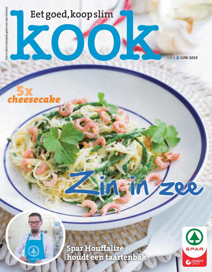 Spar folder van 01/06/2019 tot 30/06/2019 - Kook