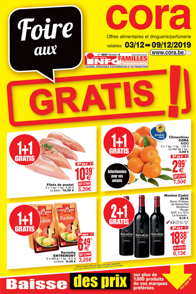 Promotions de la semaine 48 Food