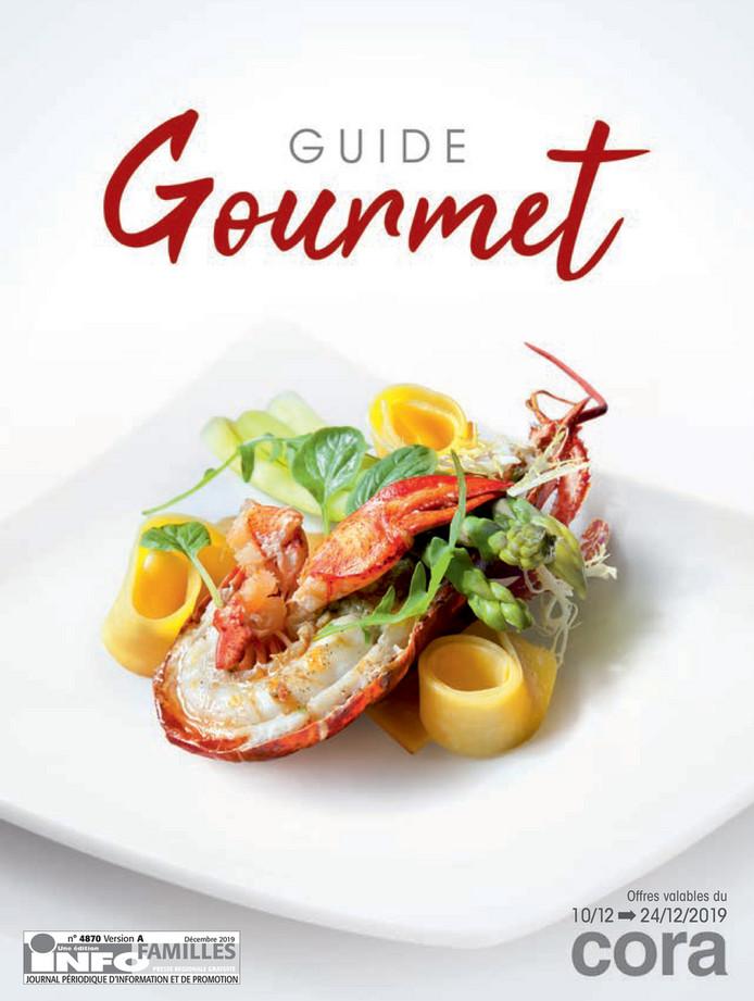 Folder Cora du 10/12/2019 au 24/12/2019 - Guide Gourmet