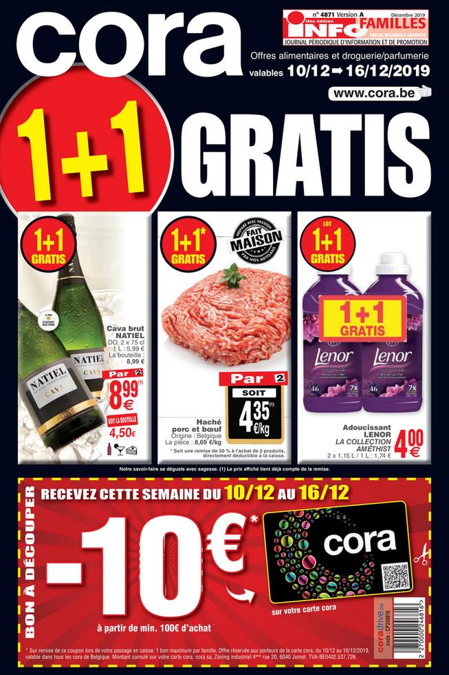 Folder Cora du 10/12/2019 au 16/12/2019 - Promotions de la semaine 50 Food