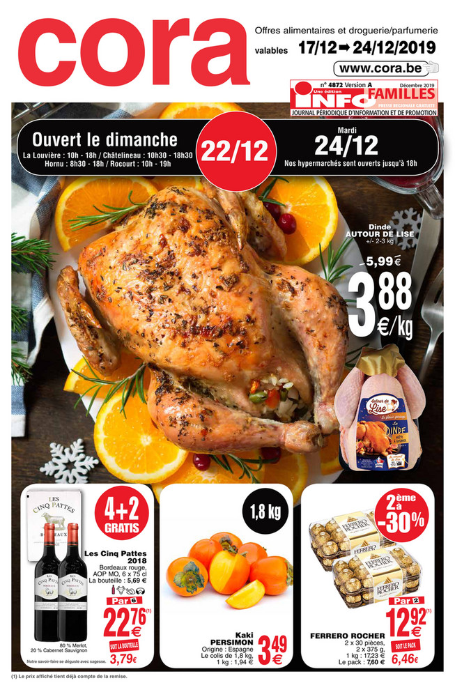 Promotions de la semaine 51 Food