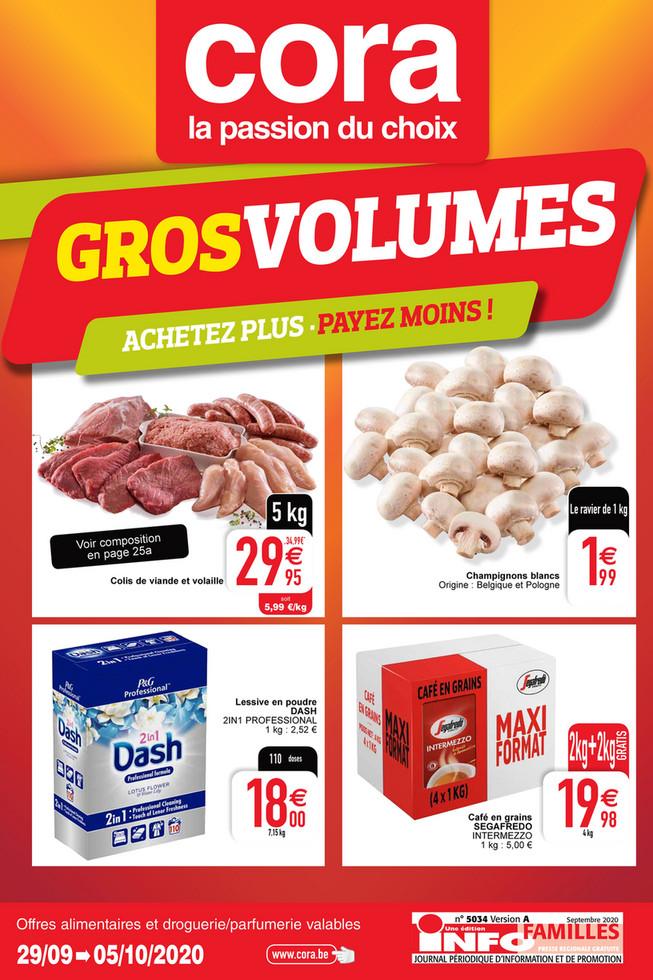 Folder Cora du 29/09/2020 au 05/10/2020 - Promotions de la semaine 40 food