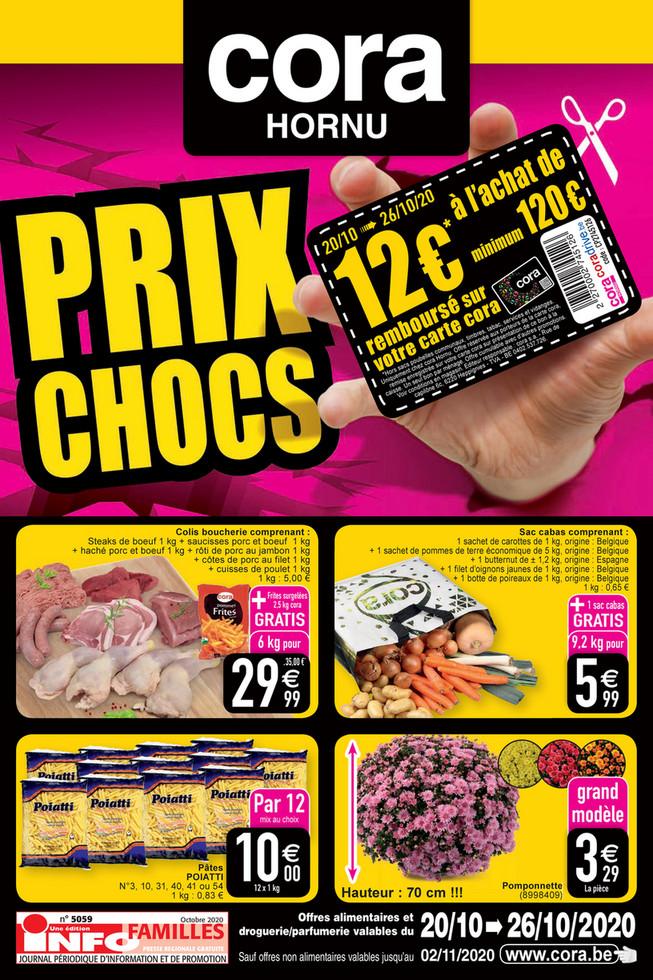 Promotions de la semaine 43 non food solo Hornu