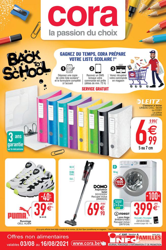 Folder Cora du 03/08/2021 au 16/08/2021 - Promotions de la semaine 30 HO no al