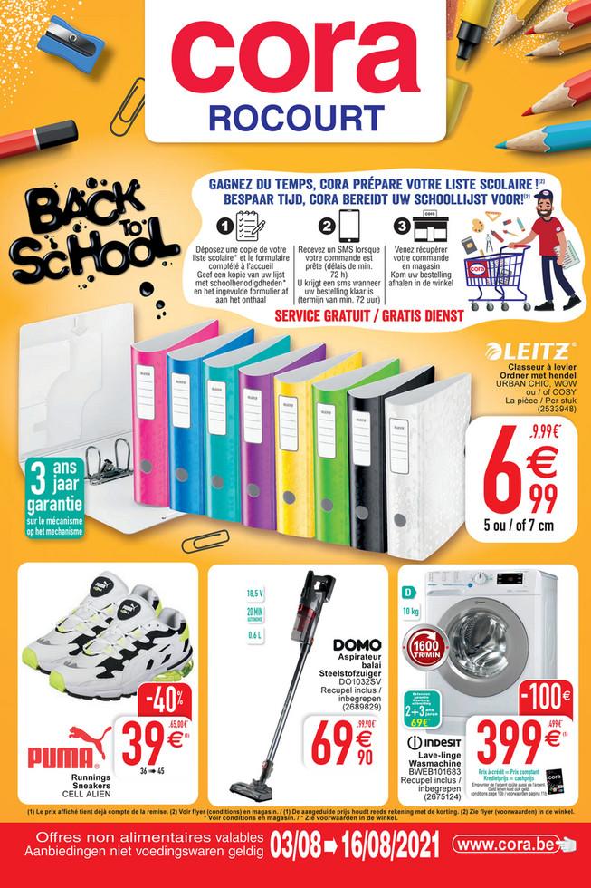 Folder Cora du 03/08/2021 au 16/08/2021 - Promotions de la semaine 30 ROC no al