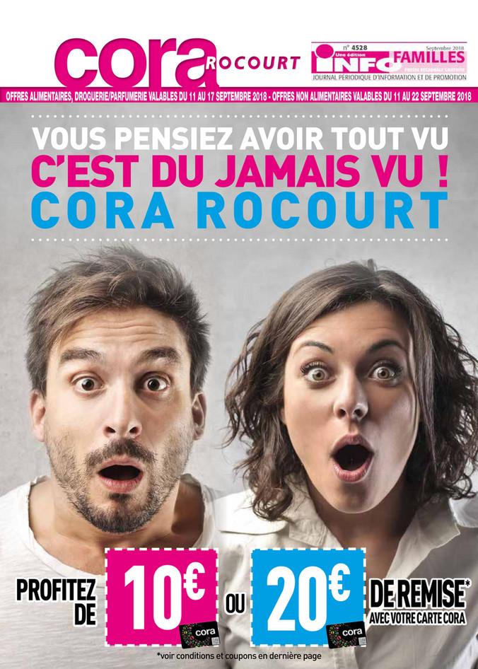 Folder Cora du 11/09/2018 au 22/09/2018 - Rocourt