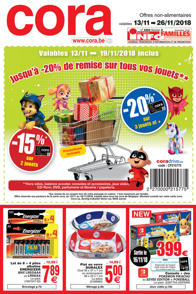 Promotions de la semaine 46 non food