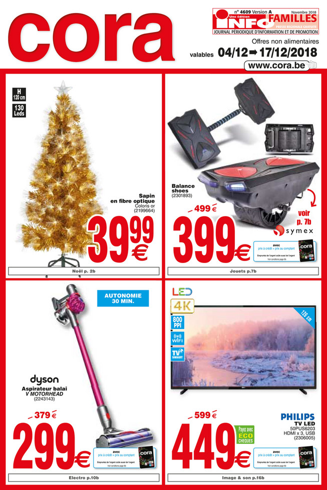 Promotions de la semaine 49 non food