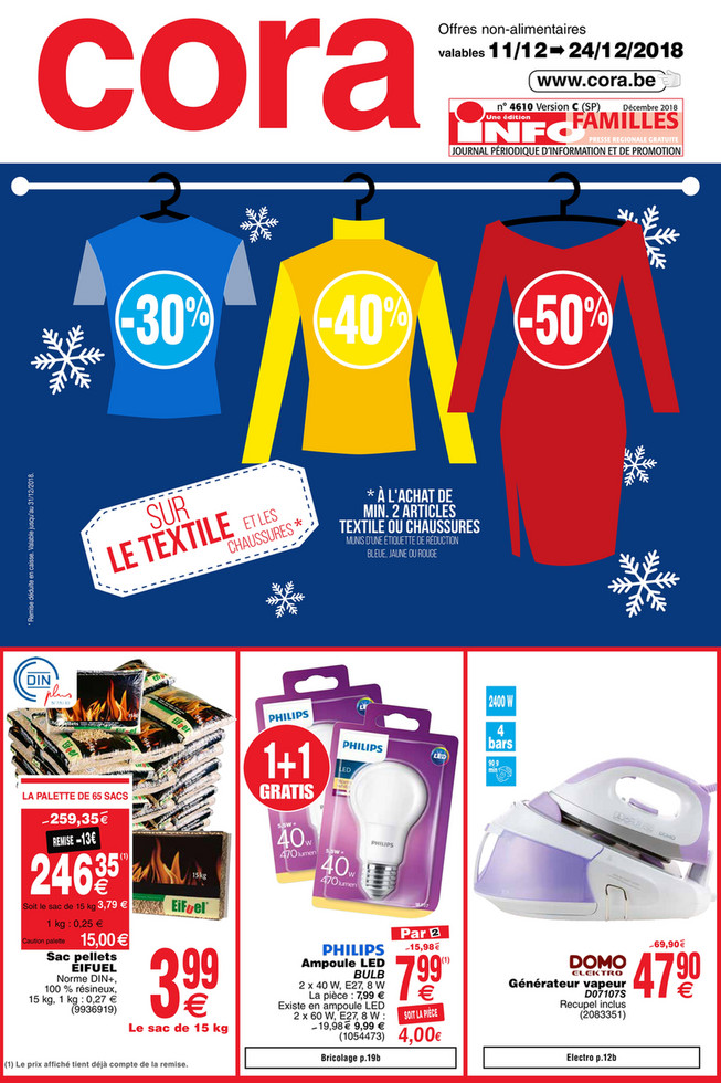 Promotions de la semaine 51 non food