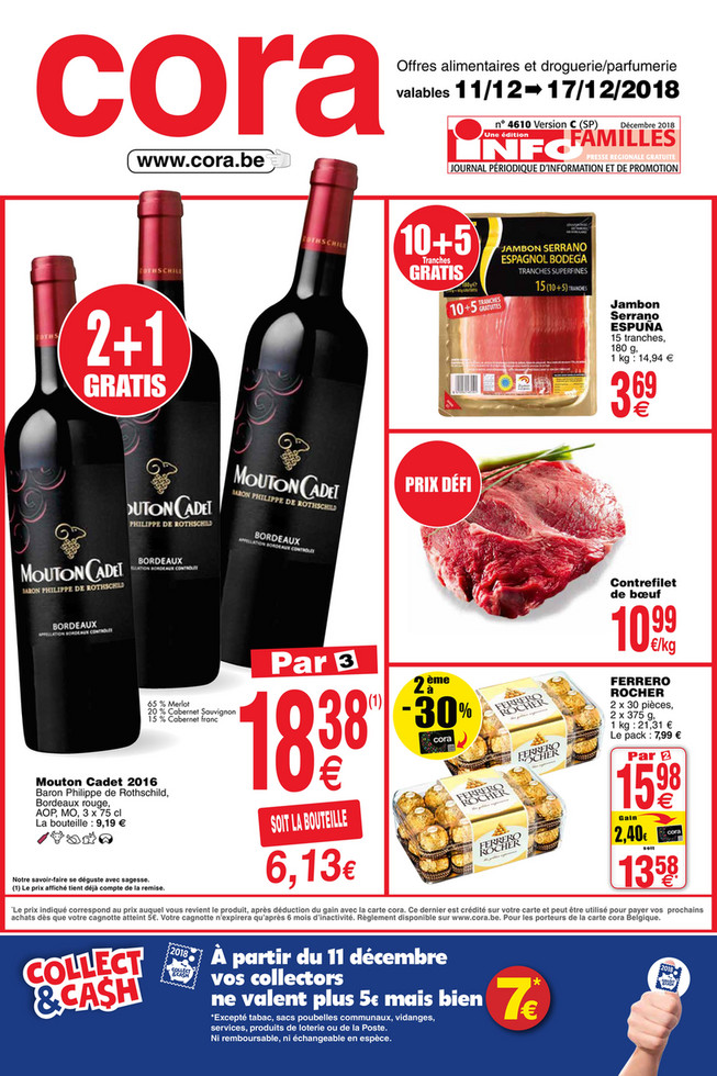 Promotions de la semaine 51 food