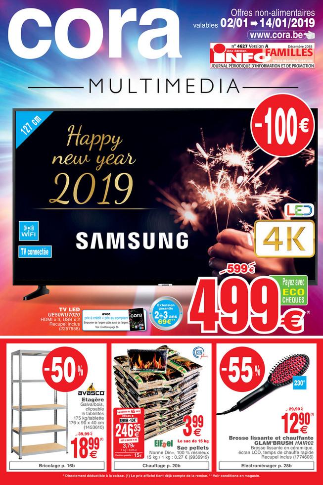 Folder Cora du 02/01/2019 au 14/01/2019 - promotions de la semaine 1