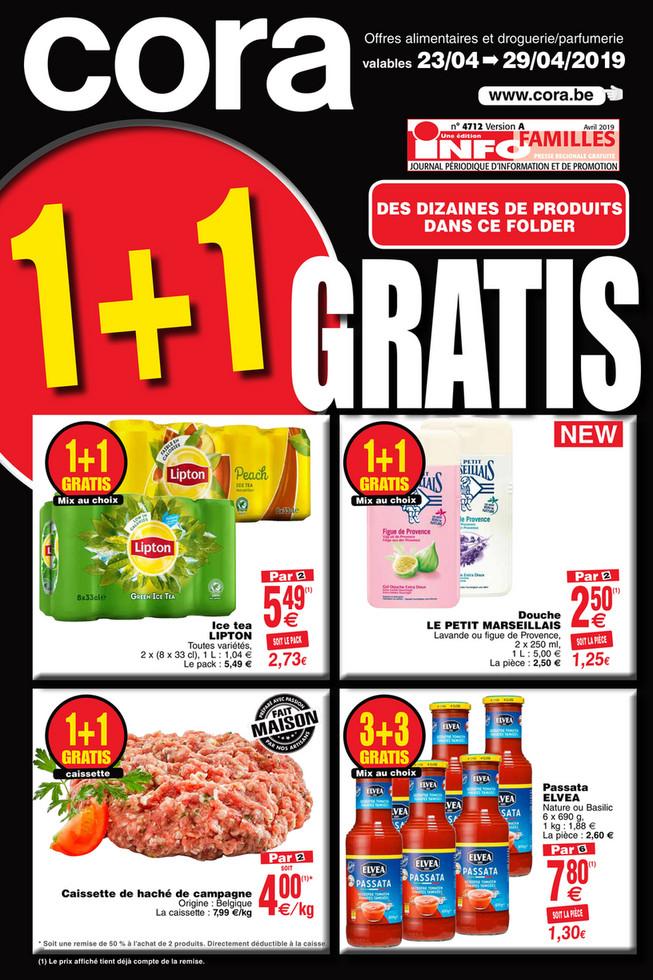Promotions de la semaine 17 food
