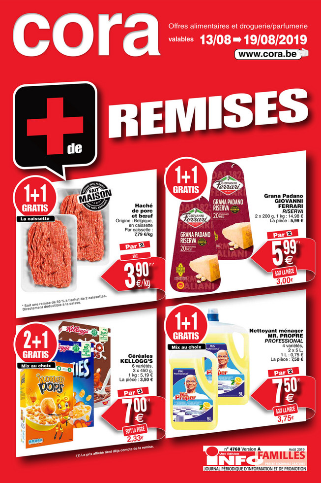 Promotions de la semaine 33 food