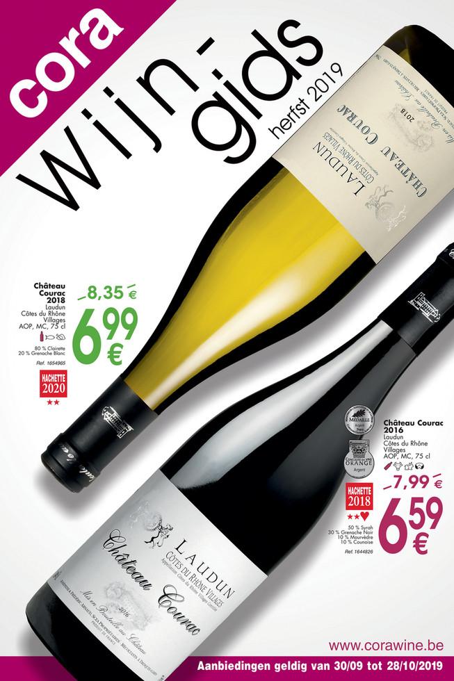 Cora folder van 30/09/2019 tot 28/10/2019 - Guide des vins