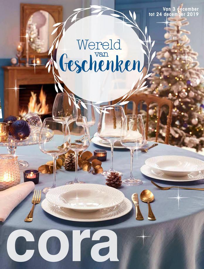 Cora folder van 03/12/2019 tot 24/12/2019 - Wereld van Geschenken