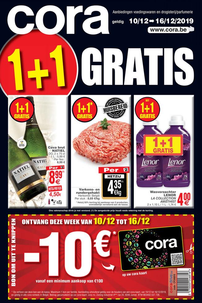 Cora folder van 10/12/2019 tot 16/12/2019 - Weekpromoties 50 Food