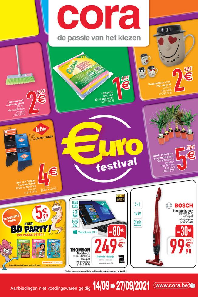 Weekpromoties 37 eurofestival