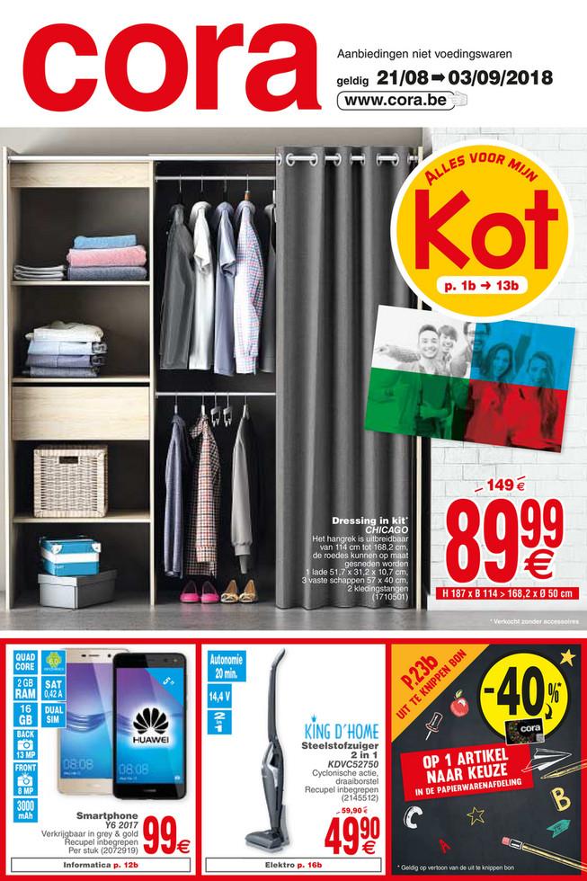 Cora folder van 19/08/2018 tot 03/09/2018 - Cora Non Alim_21-08 tot 03-09 NL.pdf