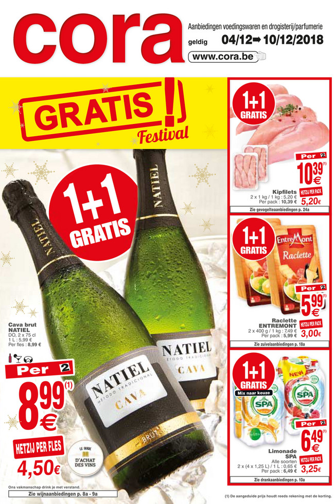 Cora folder van 04/12/2018 tot 10/12/2018 - Weekpromoties 49 food