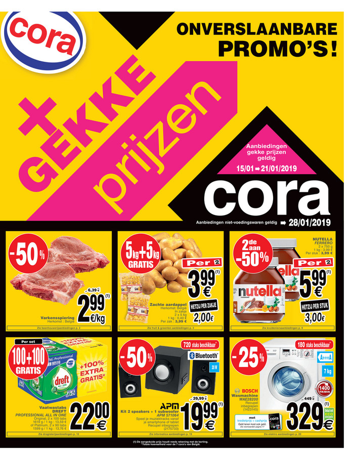 Cora folder van 15/01/2019 tot 28/01/2019 - Weekpromoties 3