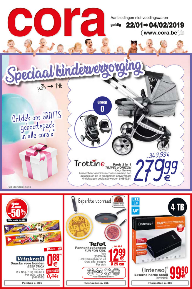 Weekpromoties 3 non food