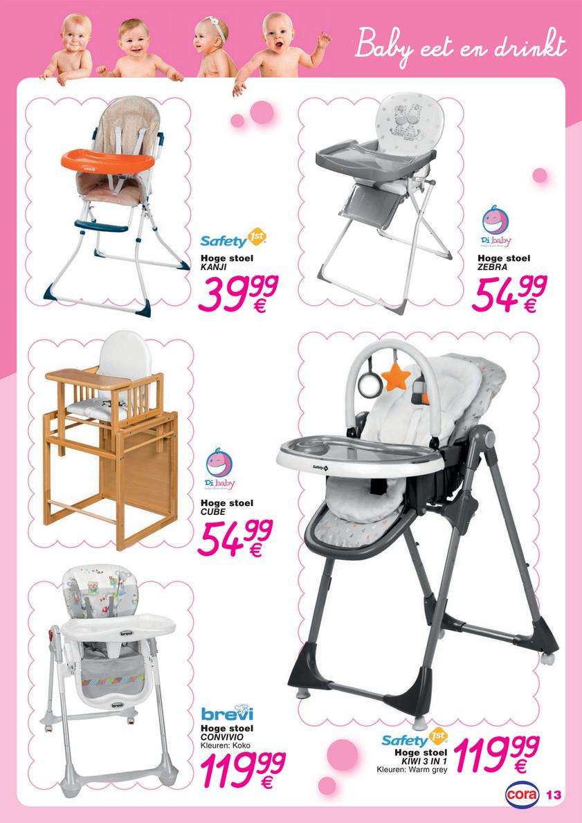 Hoge Stoel Baby.Folder Cora Van 01 01 2019 Tot 31 12 2019 Baby Catalogus