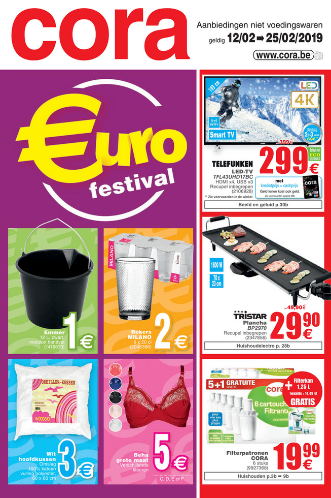 Weekpromoties 6 non food