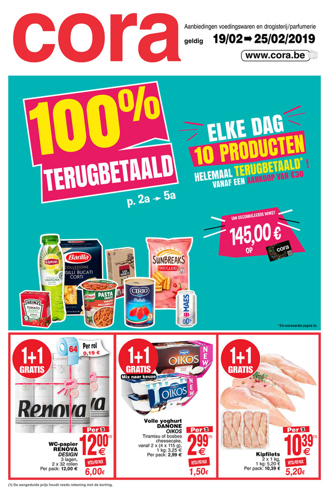 Weekpromoties 8 food