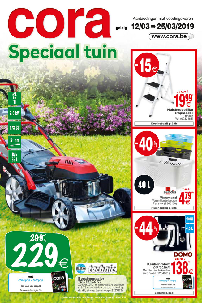 Cora folder van 12/03/2019 tot 25/03/2019 - Weekpromoties 11 non food